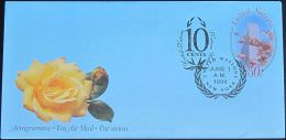 UNO NEW YORK 1999 Mi-Nr. LF 16 Ganzsache Luftpostfaltbrief Gestempelt EST - New-York - Siège De L'ONU