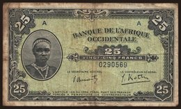 25 Francs, 1942 - West African States