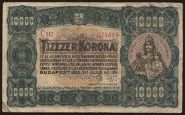 10.000 Korona, 1923 - Hungary