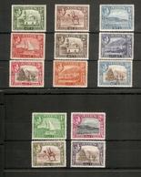 ADEN 1939 - 1948 SET SG 16/27 LIGHTLY MOUNTED MINT Cat £120 - Aden (1854-1963)