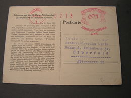 Hamburg America Linie , Hapag Telegramm Karte 1928 - Lettres & Documents
