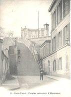 (92) Hauts De Seine - CPA - Escalier Conduisant à Montretout - Saint Cloud