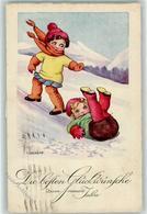 39187784 - Kinder Winter Sign I. Graeff - New Year