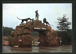 AK Tüddern, Löwen-, Tiger Und Grosswild-Auto-Safari An Der Bundesstrasse 56, Zoo - Unclassified