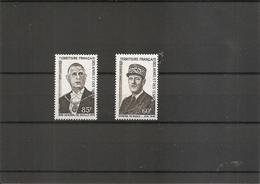 Afars Et Issas - DeGaulle ( 375/376 XXX -MNH) - Afars Et Issas (1967-1977)