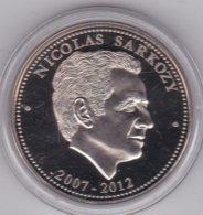 Médaille Nicolas Sarkozy - Les Présidents De La République, En FDC - France