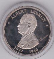Médaille Albert Lebrun - Les Présidents De La République, En FDC - France