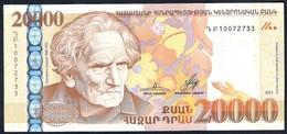 Armenia - 20000 Dram 2012 - P58 - Arménie