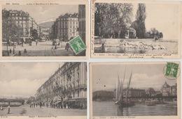 18 / 7 / 57   -  7  CPA  DE  GENÈVE  - Touts Scanées - Postcards