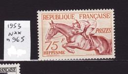 1953 N 965 N**  AF89 - France