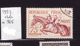 1953  N 965 Obli  AF92 - France