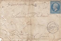 LAS. 27 FEVR 63. MAINE-ET-LOIRE POUANCE. GC 2997. BOÏTE RURALE E / 1 - Marcophilie (Lettres)