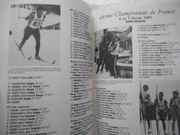 LORRAINE, VOSGES, RARE,  10 ANS DE SKI DE FOND DANS LES VOSGES, STEIMER / CURIEN, 1981, LA BRESSE, GERARDMER - Lorraine - Vosges