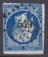 PC   549   BRULON   (  71  - SARTHE  ) - 1849-1876: Période Classique