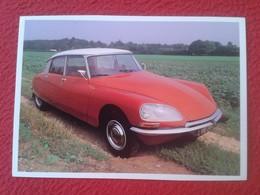 POSTAL POST CARD CARTE POSTALE COCHE DE LUJO CAR CARS COCHES AUTO AUTOMÓVIL CITROËN DS 1972 SAPO ? TIBURÓN ? VER FOTO/S - Autres