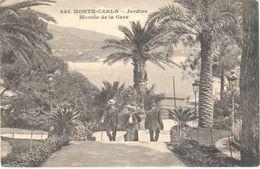 Monaco - CPA - Monte-carlo - Jardins - Montée De La Gare - Monte-Carlo