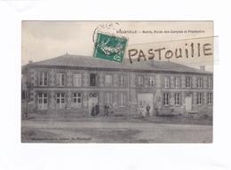 CPA : 14 X 9)  -  BINARVILLE  -   Mairie, Ecole Des Garçons Et Presbytère - Frankrijk