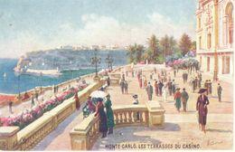 Monaco - CPA - Monte-carlo - Les Terrasses Du Casino - Monte-Carlo