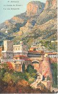 Monaco - CPA - Le Palais Du Prince - Vue Des Remparts - Prinselijk Paleis