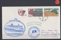 Schiffspost   Schweden    MS  Stena Germanica - Schiffe