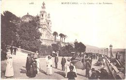 Monaco - CPA - Monte-carlo - Le Casino Et Les Terrasses - Monte-Carlo