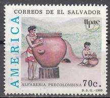 SALVADOR     SCOTT NO. 1215    USED    YEAR  1989 - El Salvador