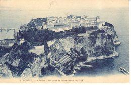 Monaco - CPA - Le Rocher - Vue Prise De L'observatoire - Monaco