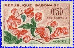 Gabon 1961. ~ YT 153** -  Fleur. Combretum - Gabon (1960-...)