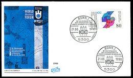 03503) - BRD - Mi 1471 - FDC - 80Pf     Weltkongreß IHK - [7] República Federal