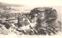 Monaco - CPA - Vue Générale De La Principauté - Monaco