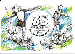 35ème Anniversaire 11 Septembre 1999 - Cercle Sportif Royen (Volley Ball) - Volleyball