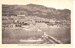 Monaco - CPA - Monte-carlo - Vue Générale Prise De Monaco - Multi-vues, Vues Panoramiques