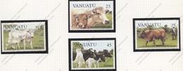 Vanuatu, Yvert 695/698, Scott 373/376, MNH - Vanuatu (1980-...)