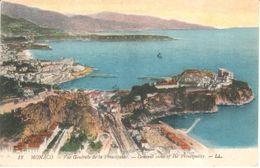 Monaco - CPA - Monte-carlo - Vue Générale De La Principauté - Monaco