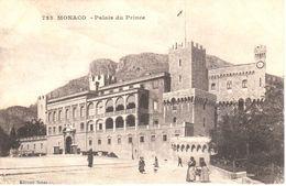 Monaco - CPA - Palais Du Prince - Palais Princier