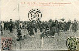 INDOCHINE CARTE POSTALE DU TONKIN -QUANG-YEN -EXECUTION CAPITALE DE DEUX ASSASSINS ANNAMITES LE 7 MARS 1905 AVANT ...... - Autres