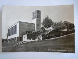 Cpsm Gerliswil Protestantische Kirche 1010 Edit Wehrli - LU Lucerne