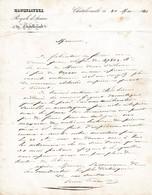 1841 - MANUFACTURE ROYALE D'ARMES De CHÂTELLERAULT - Précisions Sur Le Travail Des Ouvriers, Les Pièces.. - Documents Historiques
