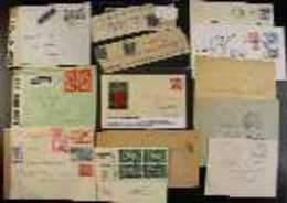 WORLD COVERS & CARDS 19th Century To 2010's Interesting Hoard Of Commercial & Philatelic Covers In A Box, Includes Germa - Stamps