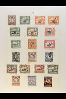 BRITISH AFRICA (EAST)  KGVI COMPREHENSIVE COLLECTION 1936-52 Attractive All Different Mint Or Used Collection On Album P - Stamps