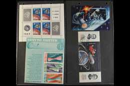 SPACE 1960's-1990's World Mint (mostly Never Hinged) & Used Collection/accumulation On Pages & In Stockbooks With Many C - Stamps