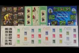 1998-2014 MINIATURE SHEETS. SUPERB NEVER HINGED MINT Assembly With Light Duplication, Including 2001-04 Marianne Set, 20 - France