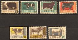 Uruguay, Yvert PA284/290, Scott C290/296, MNH - Uruguay