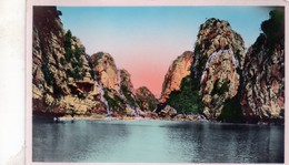 Cpa --nord -vietnam  Baie D'along-rochers (vue Prise Sous Une Arche) - Vietnam
