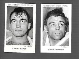 W951 - VIGNETTES FELIX POTIN - BOXE - CHARLES HUMEZ - ROBERT VILLEMAIN - Trading Cards