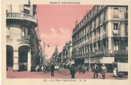 ***  54  ** NANCY  Artistique La Rue Saint Jean Neuve Excellent état - Nancy