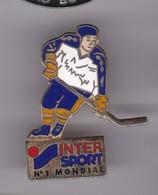 Pin's INTER SPORT HOCKEY SUR GLACE - Winter Sports