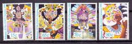 Bahamas 1999 Carnival, Masks, Dance, Christmas (4v) MNH  (M-117) - Bahamas (1973-...)