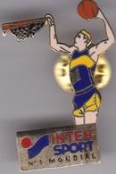 Pin's INTER SPORT BASKETBALL - Winter Sports