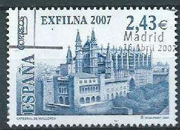 ESPAGNE SPANIEN SPAIN ESPAÑA 2007 FROM M/S STAMP DAY EXFILMA. PALMA DE MALLORCA ED 4321 YV 3919 MI 4214 SG 4248 SC 3489 - 2001-10 Used